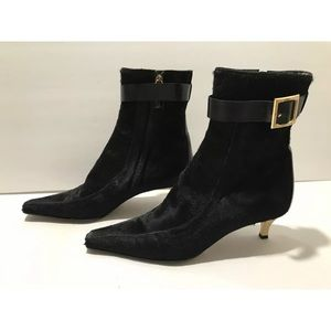 Dolce & Gabbana Boots pony hair black 37.5 / 7